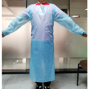 Disposable CPE isolation gown (non-medical)