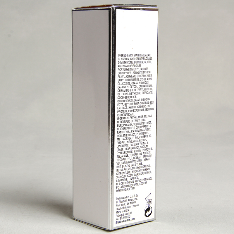 All Borders Silver Foil Stamping Package Box For Perpetual Moisture 24 Lotion