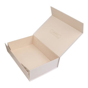 Customized Magnet Gift Box Packaging ,Recyclable Paper Foldable Boxes With Logo Printing