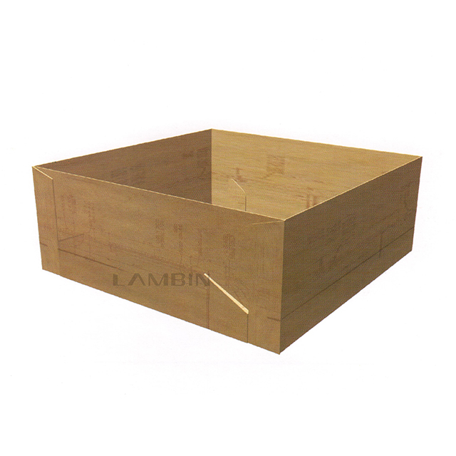 Locking The Flaps Paper Box for Packing Daily Commodities