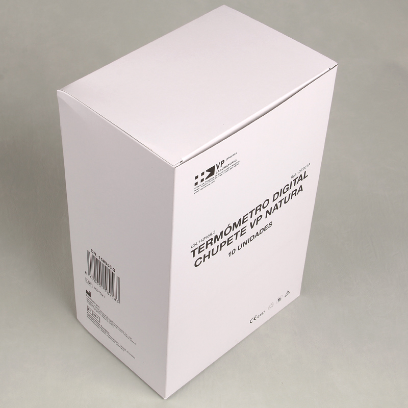 Custom Printed White Cardboard Health Drug Paper Medical Packaging Box