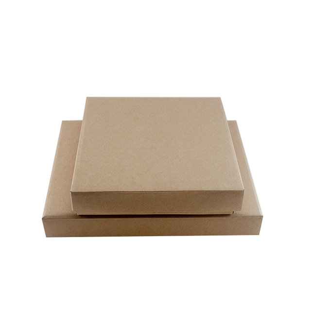 Wholesale Custom Color Clothes Packaging Natural Recycled Kraft Paper Box, Kraft Paper Gift Box
