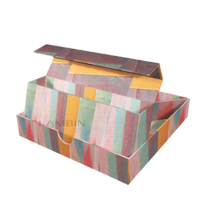 paper box with display structure