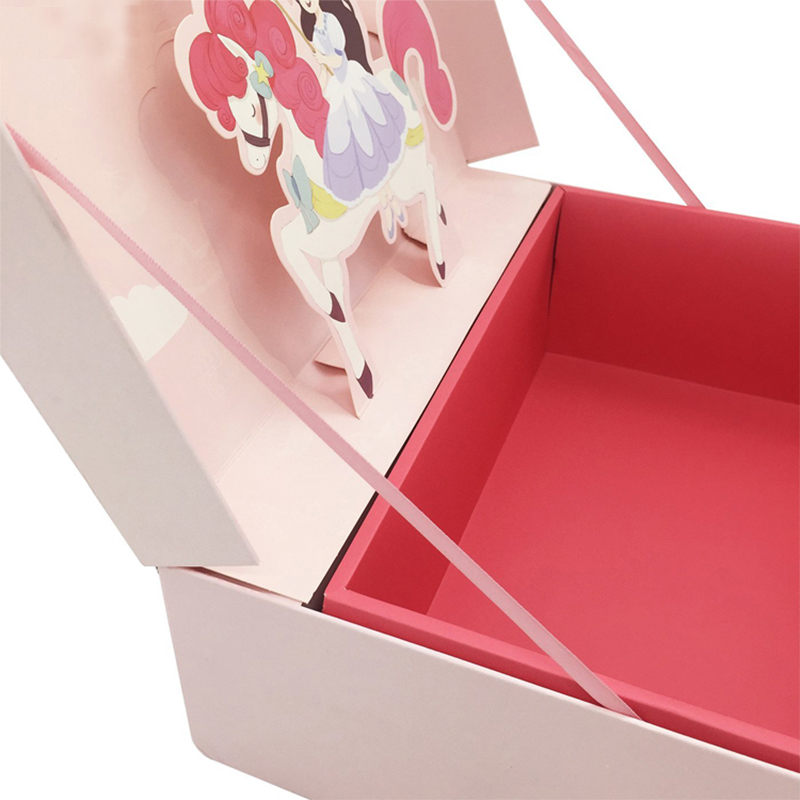 2021 Customized Pin Foldable Gift Packaging box, Recyclable Paper Boxes