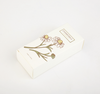 Custom Small Fresh White Card Packaging Box Color Printing Food Medicine Box