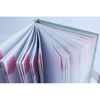 Metal Spiral Binding Notebook A4, A5 Size Ruled Lined Inner Pages with Branded Logo Clear