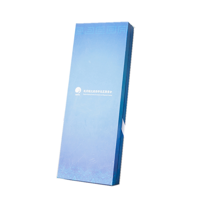 Custom Luxury Top And Bottom Gradient Color Gift Paper Packaging Boxes