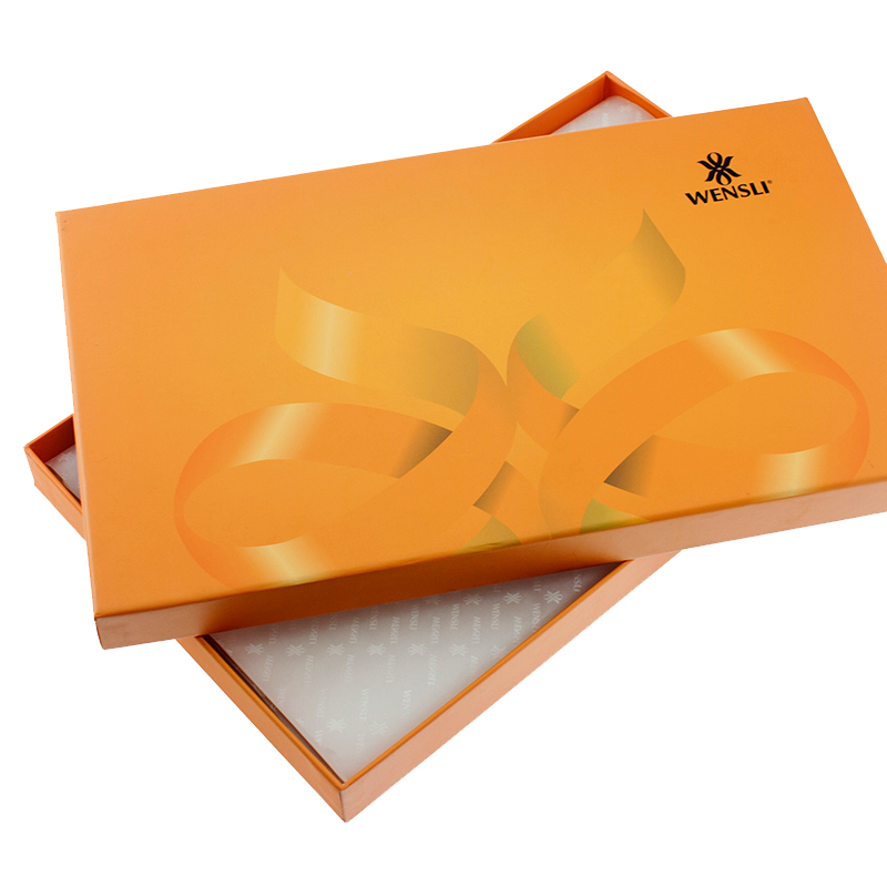 Custom New Empty Packaging Luxury Silk Scarf Paper Gift Boxes, Wholesale Paper Box Packaging