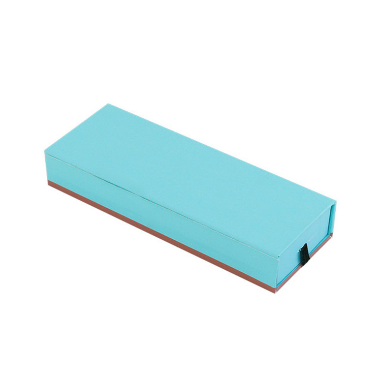 Custom Eco Friendly kraft paper drawer box,cheap kraft paper sliding box for mobile phone shell