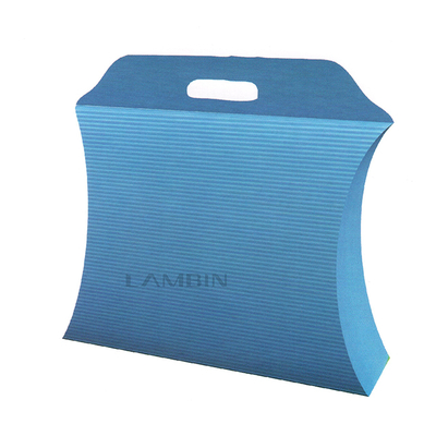 pillow shaped box for presentsn packaging