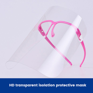 Glasses-type protective mask