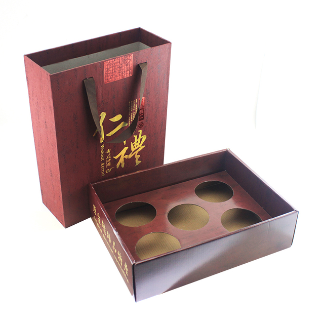 High-integrity Enterprise Custom Corrugated Packaging Box For Gift Box High-end Drawer Type