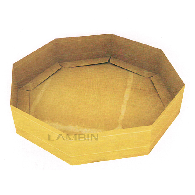 octagon tray-like folding box
