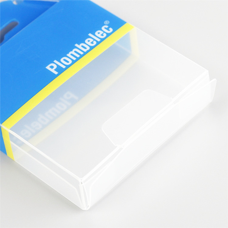 Custom design packing recycled foldable plastic box