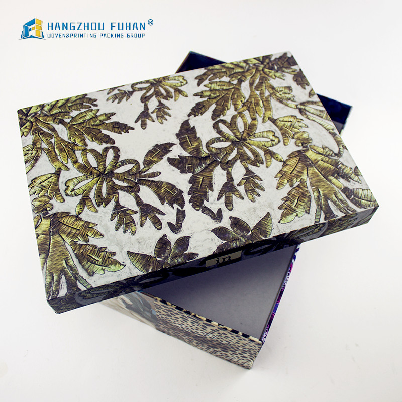 Automatic Machine Production Cardboard Material Custom Paper Gift Box
