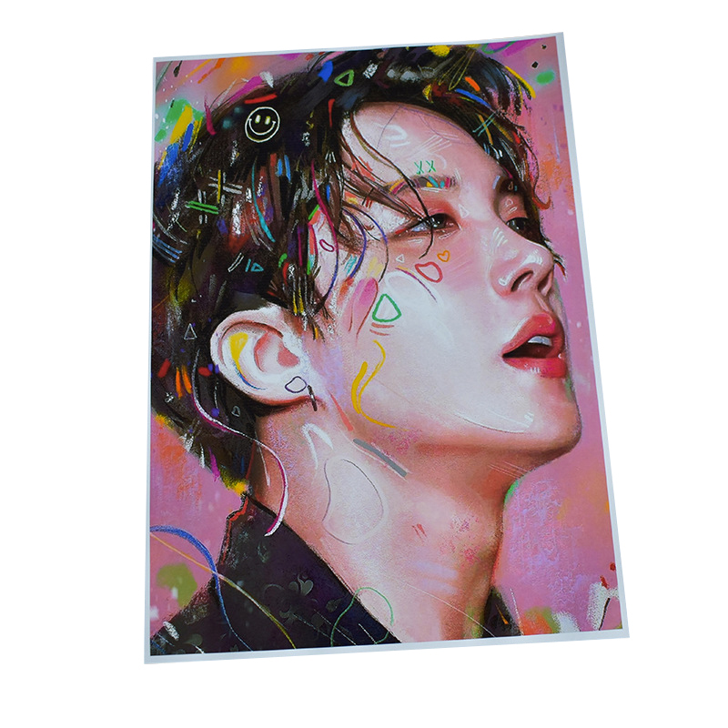 Low Price Waterproof Recycling Art Paper Printing Poster Playbill with Custom logo