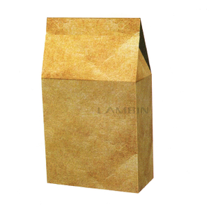 auto-folding agglutinating paper box